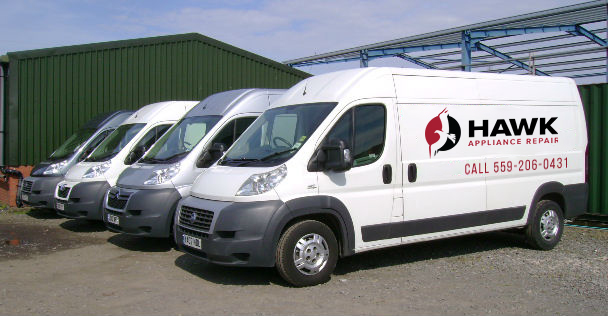 hawk appliance repair vans